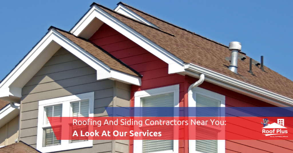 A clean, beautiful residential roof from Roof Plus.